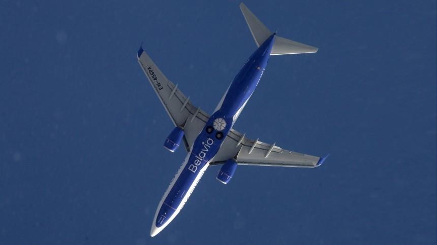 Самолет Belavia подал сигнал бедствия над территорией России