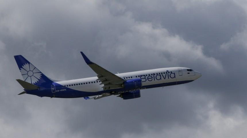 Резкий разворот: рейс Belavia готовится кэкстренной посадке в«Домодедово»
