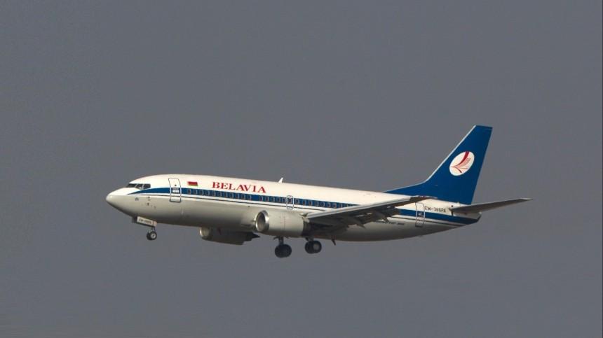 Подавший сигнал рейс Belavia стуристами приземлился в«Домодедово»