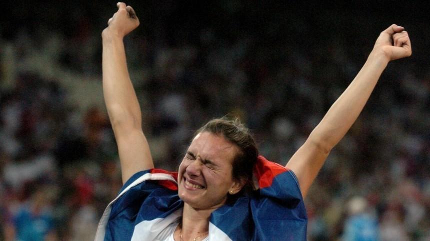 «Просто богатыри»: Исинбаева поздравила гимнастов спобедой наОлимпийских играх
