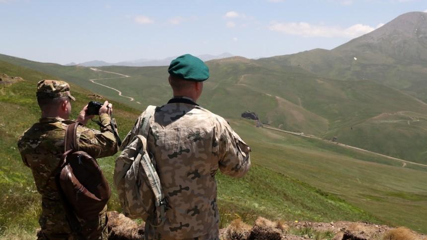 Трое армянских военных погибли при столкновениях награнице сАзербайджаном