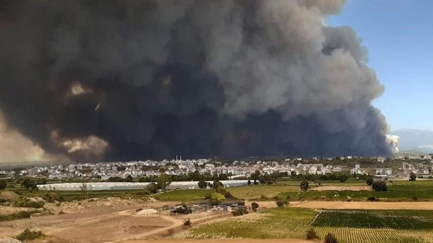 «Переживаю дослез»: россиянка рассказала ожутких пожарах испецоперации вТурции