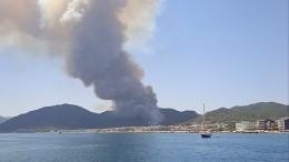 Отпуск— огонь! Тысячам россиян угрожает опасность нагорящих курортах Турции