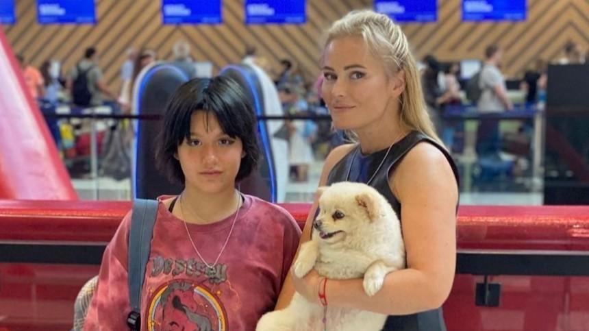 Отправленная заграницу дочь Даны Борисовой боится, что новая школа будет похожа напсихушку