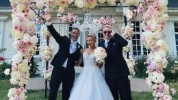 Младшая сестра Егора Крида вышла замуж заиностранца вплатье принцессы
