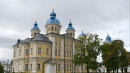 Путин оценил итоги реставрации Коневского монастыря
