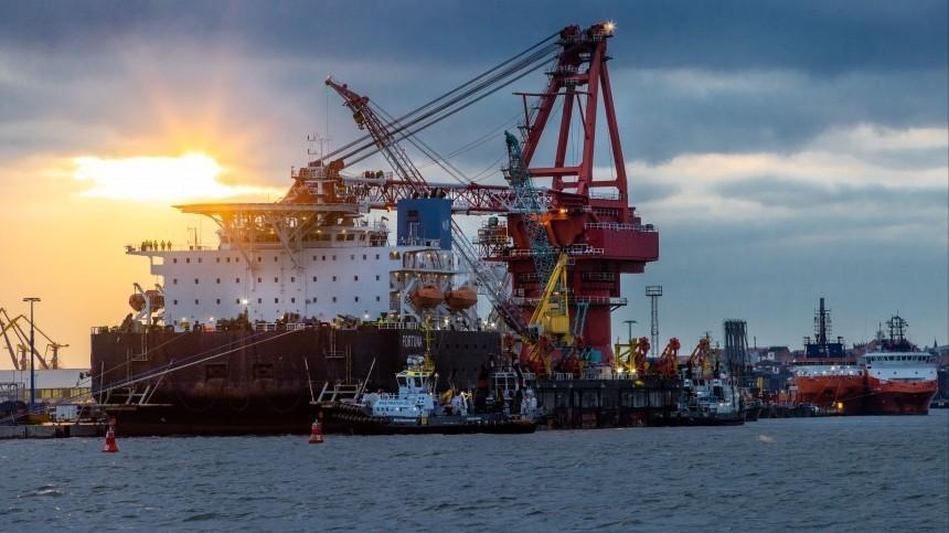 Bloomberg: Германия неоткажется от«Северного потока— 2» из-за позиции США