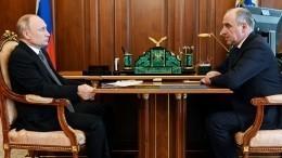 Глава КЧР рассказал Владимиру Путину оразвитии республики: «Сильный толчок»