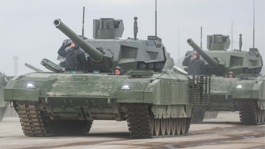 ВСША российский танк «Армата» назвали «убийцей НАТО»