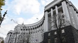 Украинские СМИ сообщили обугрожающем взорвать гранату вздании кабмина мужчине