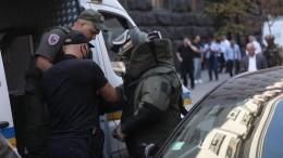 Задержан угрожавший подорвать здание кабмина Украины сапер