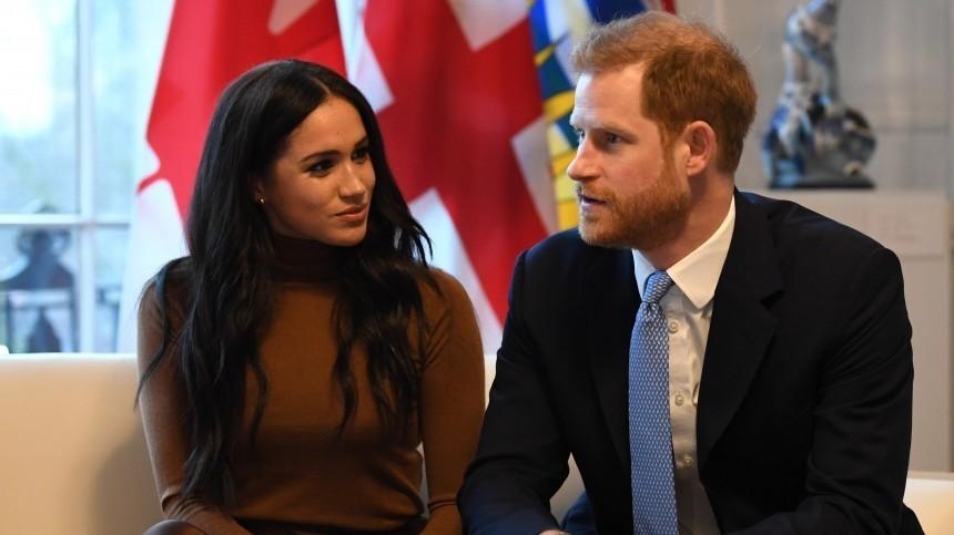 Королевский фотограф назвал дату возможного развода Меган Маркл ипринца Гарри