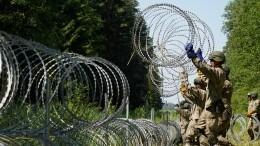 Власти Литвы иЛатвии разрешили открывать пограничникам огонь помигрантам