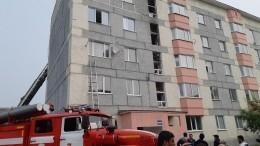 Один человек пострадал при взрыве газа вНовом Уренгое