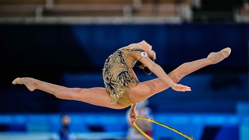 Сборная России похудожественной гимнастике завоевала серебро ОИвгрупповом многоборье
