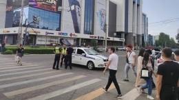 Встолице Киргизии неизвестные захватили заложников вместном ЦУМе