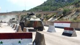 Российские военные продолжили патрулирование впровинции Алеппо