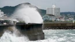 Мощный тайфун разрушил Токио иокрестности после окончания Олимпиады-2020