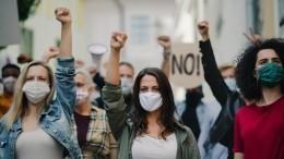 Противники вакцинации едва невзяли штурмом телецентр BBC вЛондоне