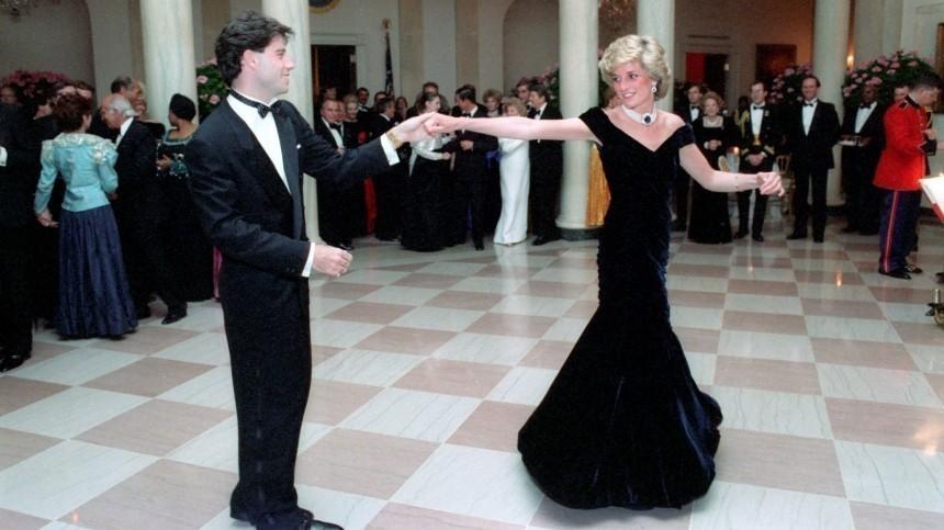 Джон Траволта заявил, что танец сним был мечтой принцессы Дианы