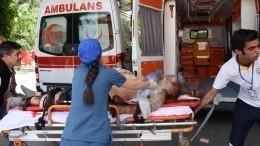 ВТурции перевернулся пассажирский автобус, пострадали 33 человека