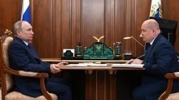 Глава Севастополя доложил Путину опроектах, которые избавят горожан отперебоев сводой