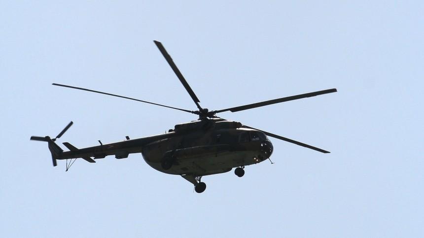 Додесяти человек могли погибнуть при крушении вертолета наКамчатке