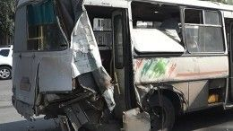 Газовый баллон взорвался впереполненном автобусе вВоронеже