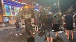 Очевидец сообщил, что пассажирке взорвавшегося автобуса вВоронеже оторвало ноги