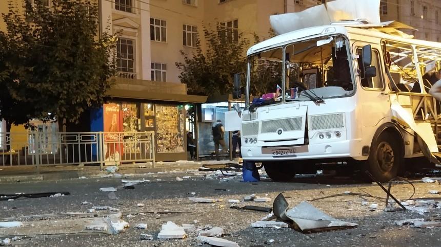 Число пострадавших при взрыве автобуса вВоронеже увеличилось