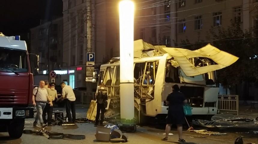 Представитель перевозчика: Взорвавшийся вВоронеже автобус был исправен
