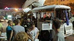 Глава Воронежской области назвал суммы выплат пострадавшим при взрыве автобуса