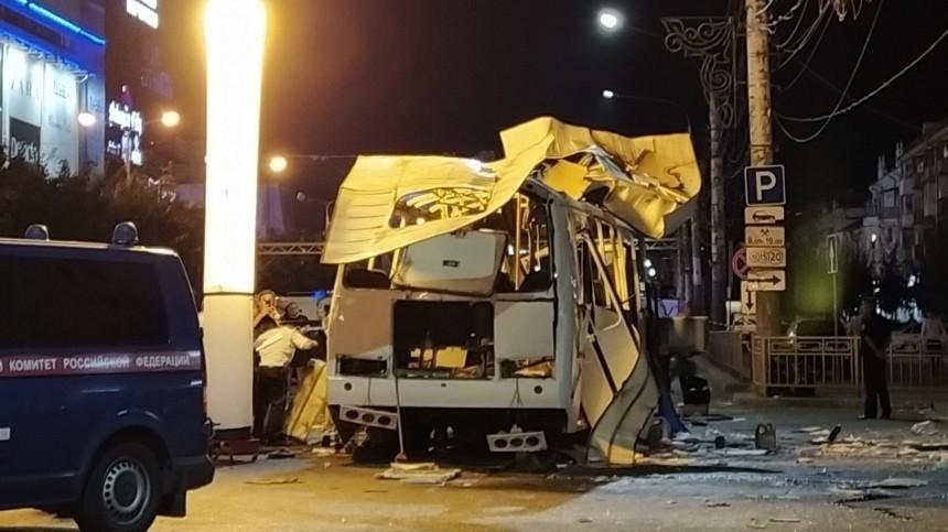 Число пострадавших при взрыве автобуса вВоронеже возросло до22