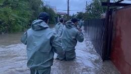 ВАнапе начали массово эвакуировать туристов из-за подтоплений