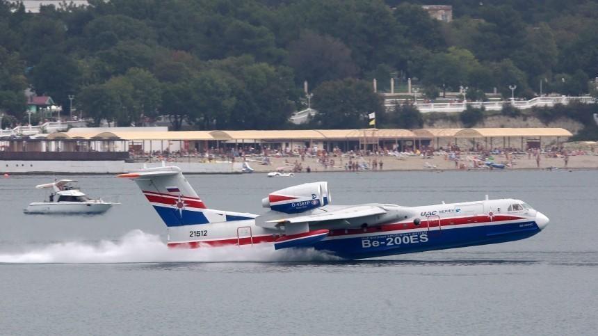 Разбившийся вТурции самолет Бе-200 был арендован уРФ