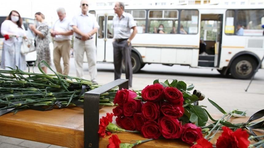 Число пострадавших при взрыве автобуса вВоронеже возросло до27