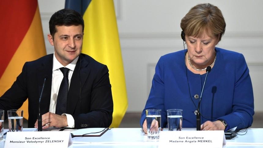 Меркель едет наУкраину отчитывать Зеленского заКличко: «Неприятный сюрприз!»