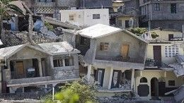 Появилось видео сначалом землетрясения наГаити. Число жертв выросло до304