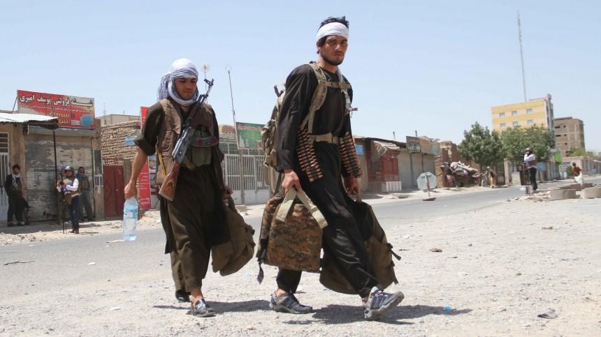 Талибы без боя взяли один изпоследних городов Афганистана, контролируемых властями