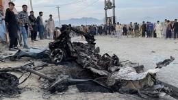 Два мощных взрыва прогремели вКабуле