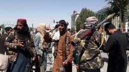 Талибы отказались принимать власть отпрезидента Афганистана Гани