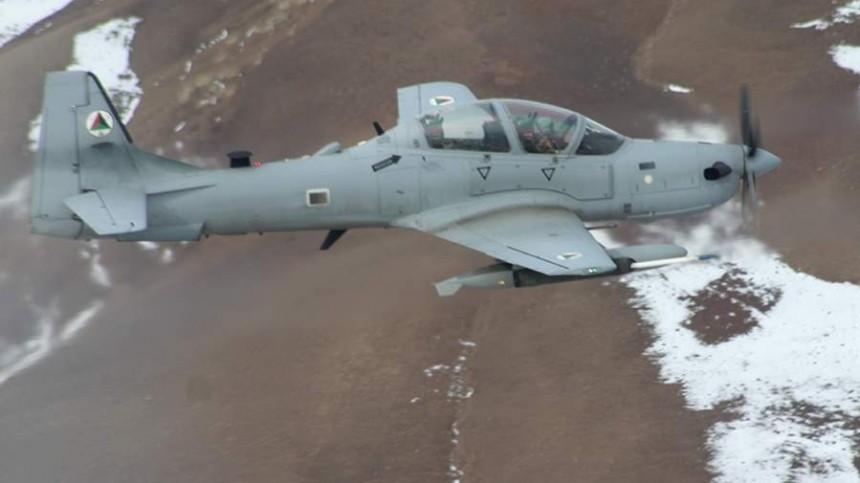 Названа причина крушения самолета ВВС Афганистана