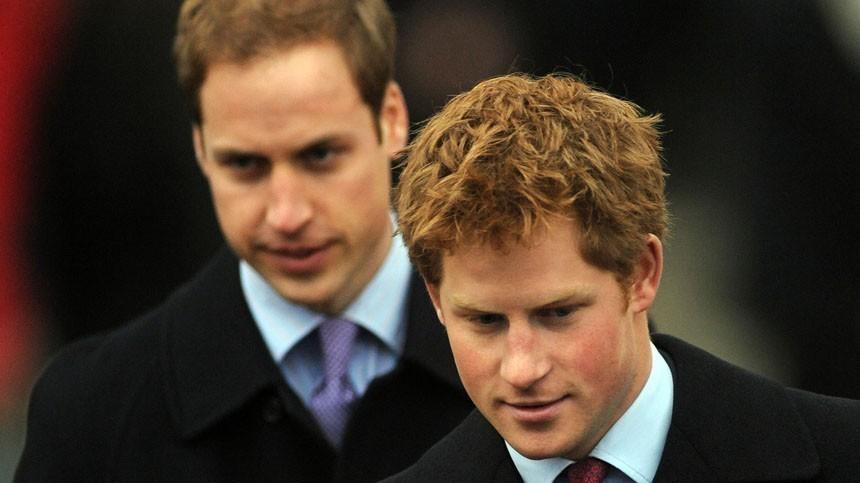 Такие разные братья: Из-за чего поссорились принцы Уильям иГарри?