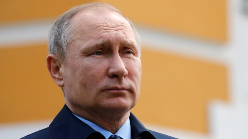 Путин выразил соболезнования родным погибших летчиков Ил-112В