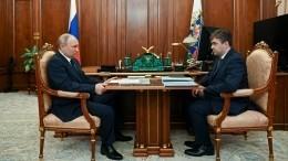 Путин указал главе Ивановской области напроблему износа коммунальных сетей