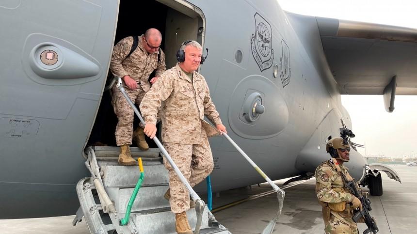 Пилотам ВВС США потребовался психолог после смерти афганцев внише шасси