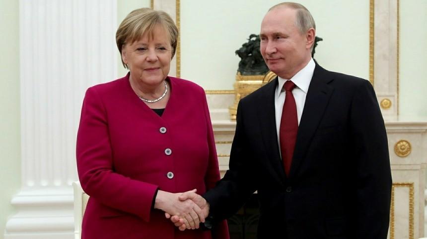 Меркель обсудит сПутиным вМоскве болевые точки мировой политики