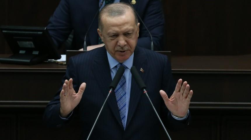 Эрдоган хочет обсудить сПутиным иМеркель ситуацию вАфганистане