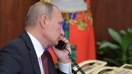 Путин обсудил ситуацию вАфганистане спрезидентами Ирана иТаджикистана
