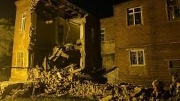 Стена жилого дома начала XX века обрушилась вТамбове